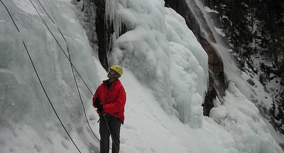 Richard belaying