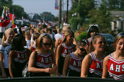 AHS Raiders Old Soldier Day Parade RP 011