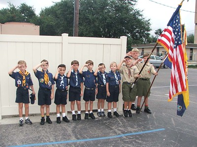 2007-09-13 Scout Roundup
