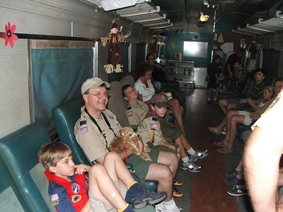2007-09-23 Webelos I Train Meeting