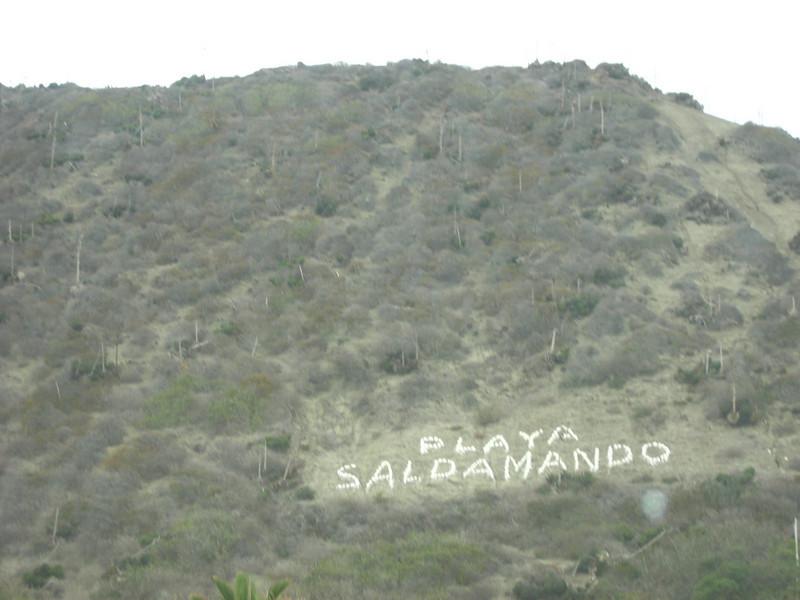 Campground in Ensenada