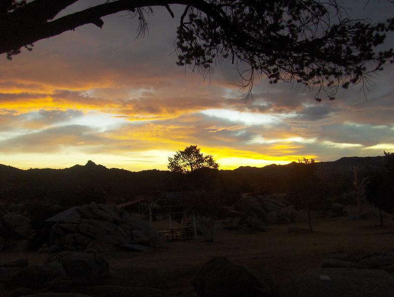 Sunsets on La Rumorosa