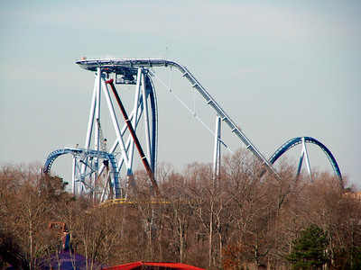 Had to stop by Busch Gardens on the way to check out the new skyline.