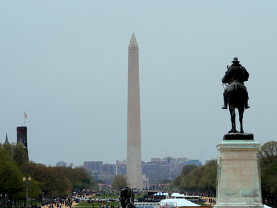 This was as close as we got to the monument