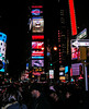 Now THIS is Times Square (I turned 180 degrees and shot south)
