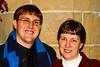John & proud mom