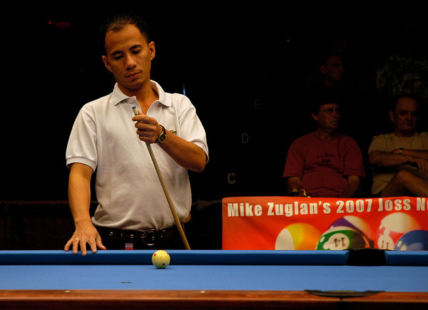 Dennis Orcollo had his playing cue tip pop off just as he started to warm up for his final match