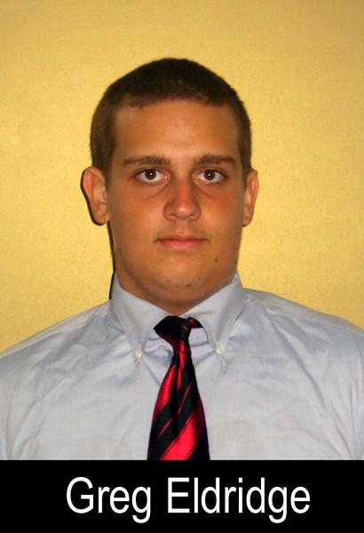 Graduation Year: 2009<br /> Jersey Number: 76<br /> Position: Offensive Tackle<br /> Height: 6'1<br /> Weight: 235<br /> Bench Max: 200<br /> Squat Max: 315<br /> Power Clean Max: 175<br /> Parent(s): Tim and Margy<br /> Siblings: <br /> Brophy Activities/Clubs: Football<br /> Favorite Book: That Was Then, This Is Now<br /> Favorite Movie: Black Hawk Down<br /> Favorite all time NFL Player: Walter Payton<br /> Pet Peeve: <br /> Most Influential Person(s) In My Life: <br /> One interesting thing I'd like people to know about me: