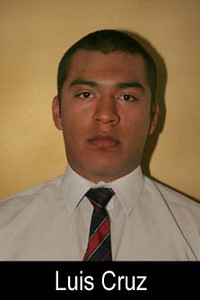 Graduation Year: 2009<br /> Jersey Number: 49<br /> Position: Linebacker<br /> Height: 5'9''<br /> Weight: 170<br /> Bench Max: 170<br /> Squat Max: 270<br /> Power Clean Max: 155<br /> Parent(s): Al Cruz and Paty Gonzalez<br /> Siblings:<br /> Brophy Activities/Clubs: Latinos Unidos<br /> Favorite Book: Don't have one<br /> Favorite Movie: Either The Matrix or 300<br /> Favorite all time NFL Player: Steve Young<br /> Pet Peeve: Don't have one<br /> Most Influential Person(s) In My Life: My parents<br /> The one thing I'd like people to know about me: