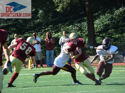 Football: McNamara @ Ireton 09-15-2007