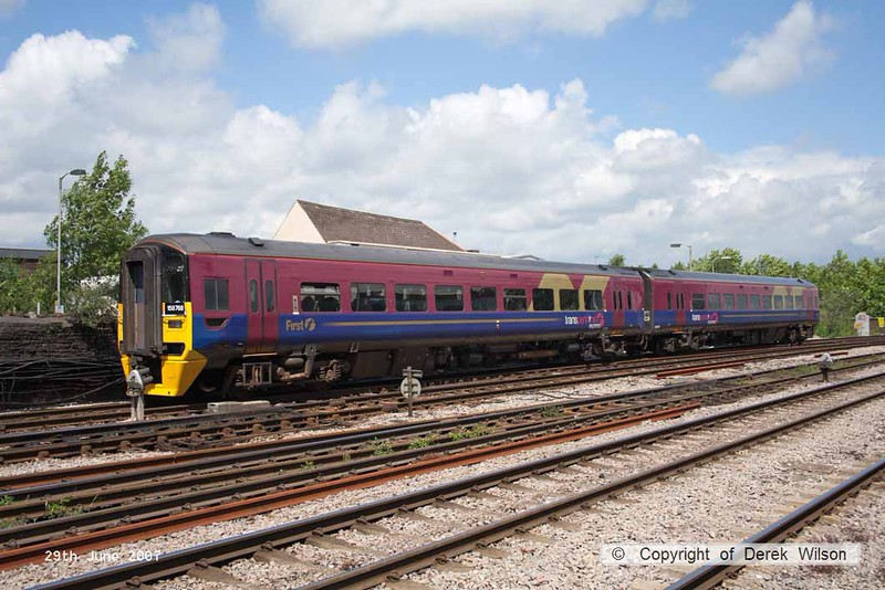 070629-040     FGW ex TransPennine Express class 158 unit no 158768 at Newport, Gwent.