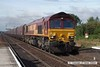 070831-017     EWS class 66/0 no 66053 is captured passing through Barnetby, powering train 4C72 Scunthorpe to Immingham, empty coal hoppers.
