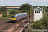 070831-041     TransPennine Express class 185 Desiro unit no 185119 is captured arriving at Barnetby with the 12.28 Cleethorpes to Manchester Airport.