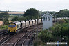 070831-007     Freightliner class 66/5 no 66506 Crewe Regeneration, seen passing Barnetby with train 6R33 Immingham to Ferrybridge power station, loaded coal hoppers.