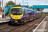 070831-047     TransPennine Express class 185 unit no 185120 is seen arriving at Barnetby with the 10.52 Manchester Airport to Cleethorpes.