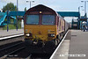 070831-026     EWS class 66/0 no 66047 passes through Barnetby, powering train 6C75 Immingham to Scunthorpe loaded coal hoppers.