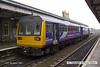 071214-016     Northern Rail pacer unit, class 142 no 142037 is seen at Worksop with the 10.27 Lincoln to Adwick.