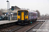 071214-021     Northern Rail class 153 unit no 153331 is seen leaving Worksop with the 11.13 Worksop to Lincoln.