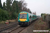 071221-027     Cross Country Trains class 170 unit no 170109 is seen approaching Attenborough station with the 09.34 Nottingham to Birmingham.