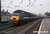 071215-017     A National Express East Coast HST led by class 43 no 43309 speeds through Retford with the 07.00 Edinburgh to London King's Cross.