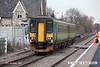 071130-005     Ex Central Trains class 156 unit no 156413 is seen arriving at Thurgaton with the 11.35 Leicester to Lincoln Central.