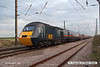 071102-011     GNER class 43 no 43328 City of Dundee, captured speeding past Barnby Lane level crossing at Claypole, leading the 14.00 London King's Cross to Aberdeen.