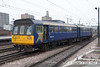 071026-022     Northern Rail class 142 pacer unit no 142029 is seen leaving Doncaster.