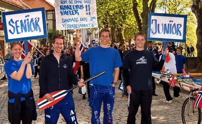 Flotte ro representanter Sara, Are, Nils Henrik og Anders