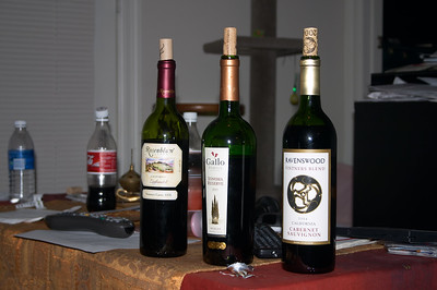 And then we have a wine-tasting