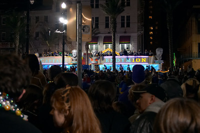 Endymion is one of the larger parades