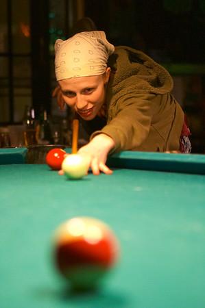Julie takes her shot