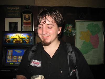 Dan, too, has a Guinness 'Stache