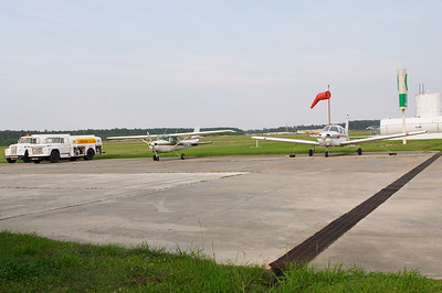 More of their airplanes. The plane I flew was 1228H, the low-wing Piper on the right.