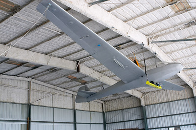 With a nice sailplane for decoration
