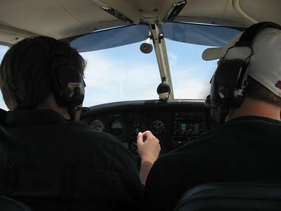 We're airborne