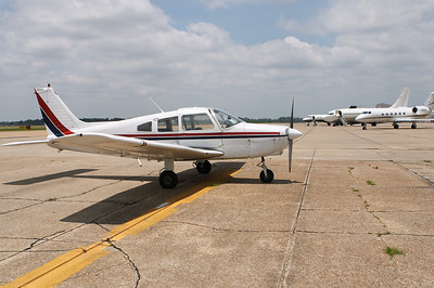 N1288H parked on the ramp at Gulfport, MS