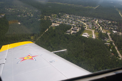 Turning on final at Slidell