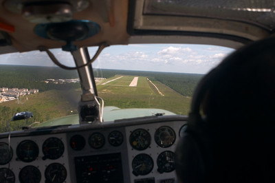Danielle brings us in for a landing