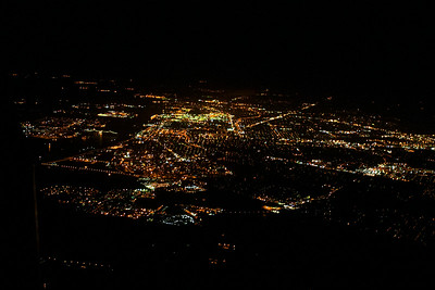 Baton Rouge from 5,500 ft