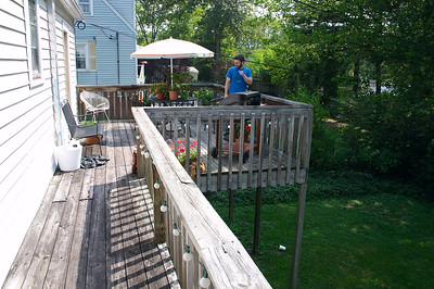 The deck is pretty nice