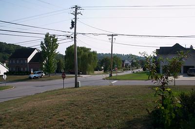 It's a corner lot, so it has a big front yard