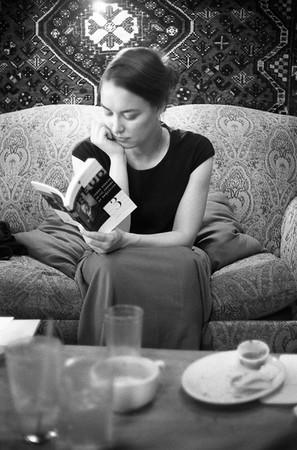 Alia reads