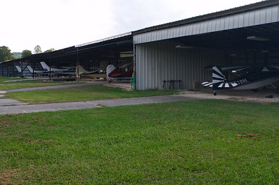Lots of old taildraggers, ultralights, etc are hangared here. I can tell the members' tastes are along the same lines as mine