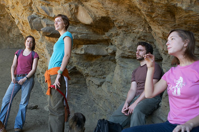 Kelly, Andrs, Amy, and Meg at Alum Cave