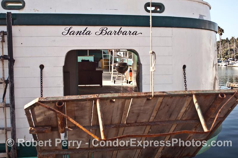 vessel Vaquero II at dock 2007 11-10 SB Harbor--081