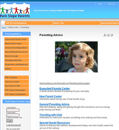 And of course....The NEW PSP Website (special thanks to Rachel, Chucky Bear and Ben Austin