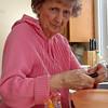 Aunt Nea Cuts Tomatoes