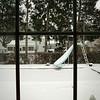 Snowy Backyard Pool