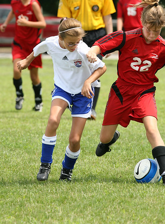 Girls U-12 Silver -- Pacesetter Select vs. Anthony Wayne United