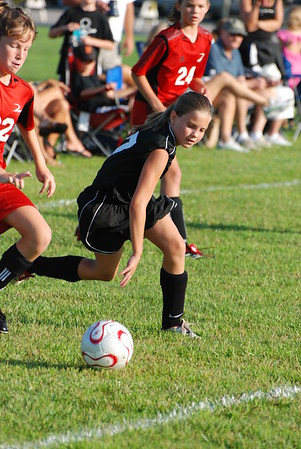 Girls U-12 Silver -- Pacesetter Select vs. Valentis Athlectica